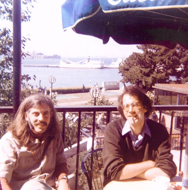 James Mitchell and Bruce Boone in San Francisco, ca. early 1970s. Photo: Stephen Mark; courtesy James Mitchell.