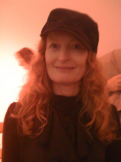 Artist and curator Anne Colvin