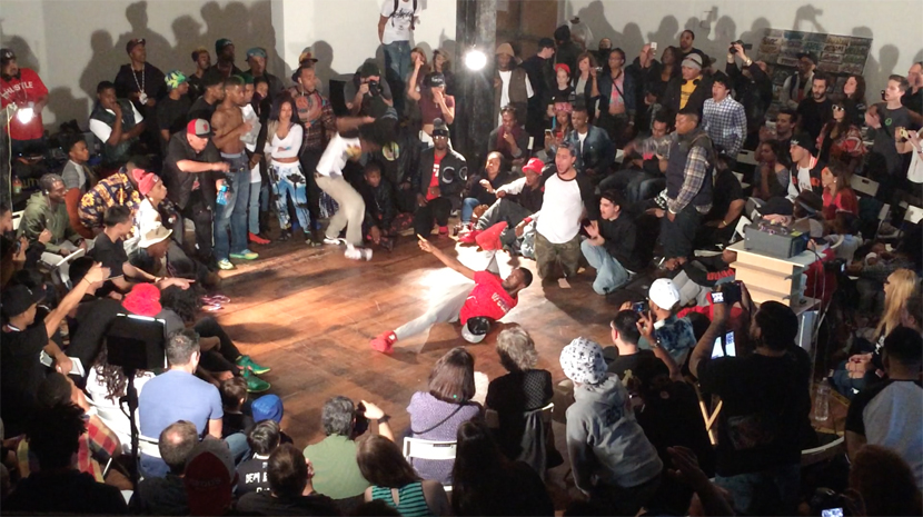 "From ""TURFIN AGAINST THE WORLD II: All Styles Dance Battle"" at the Lab, February, 21, 2015."