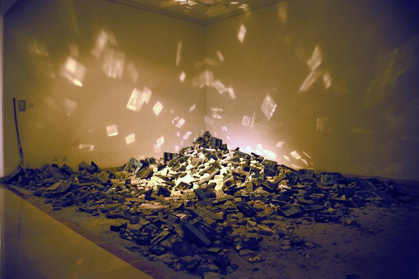Ruins: Hall of Reflections; installation at 6th Sharjah Biennial, 2003.