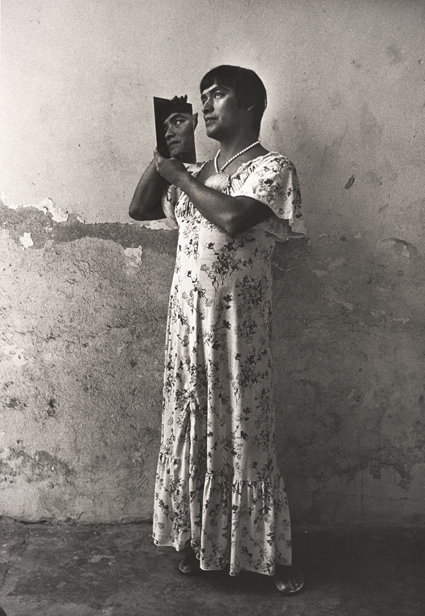 Graciela Iturbide, Magnolia, Juchitán, Oaxaca, México, 1986; gelatin silver print, 18 3/8 in. x 12 3/4 in. (46.67 cm x 32.39 cm); Collection SFMOMA, Accessions Committee Fund purchase; © Graciela Iturbide