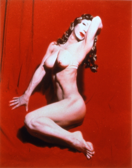 Yasumasa Morimura, Self-Portrait (Actress) Red Marilyn, 1996; dye destruction print, 47 1/4 in. x 37 1/2 in. (120.02 cm x 95.25 cm); Collection SFMOMA, Gift of Vicki and Kent Logan; © Yasumasa Morimura