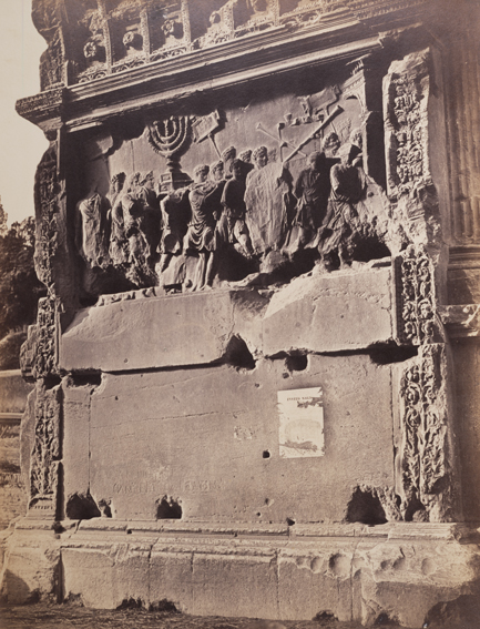 Robert Macpherson, Arch of Titus, no. 28, 1909, ca. 1850