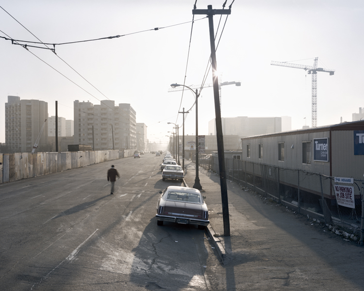 Janet Delaney, Howard Street toward Fourth, from the series South of Market, 1978-1986, 1981, printed 1998