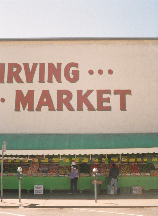 Each market has regional and international ingredients for its local community.