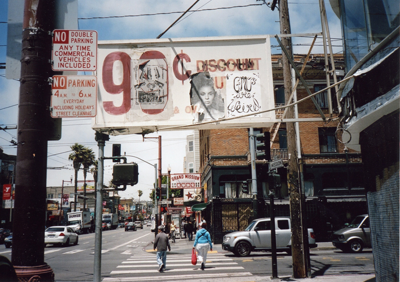 99¢, Mission and 18th. This building has been vacant forever, I've heard rumors it's slated to be a bakery/café. Aye dios mio.