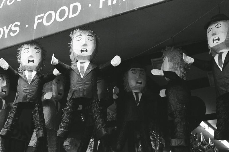 Trump piñatas are a hot commodity in La Mission.