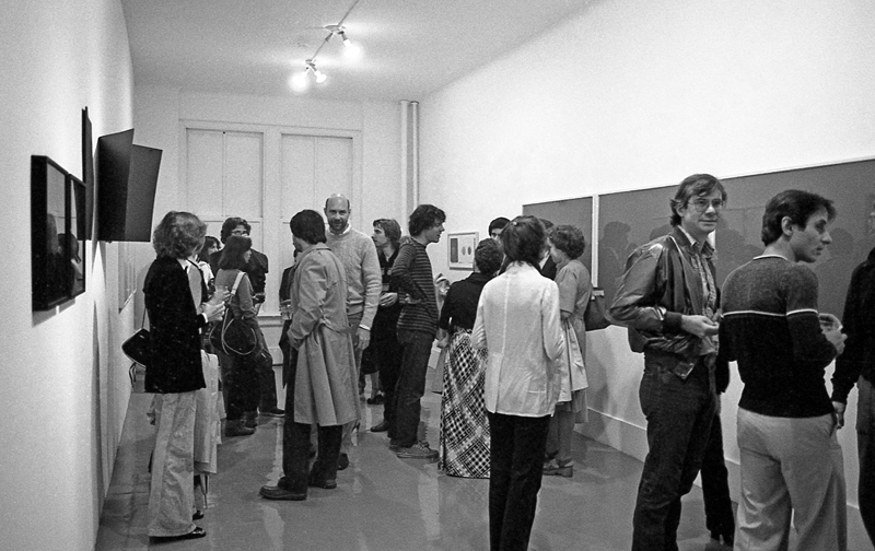 Opening of Pictures at Artists Space, September 1977. Photo by D. James Dee. Courtesy Artists Space.