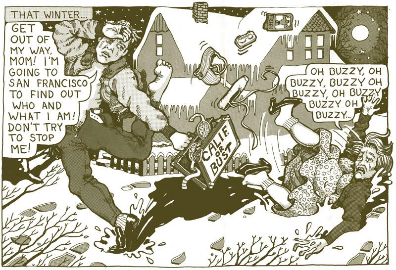 Curt McDowell—comic panel, Zip-A-Tone.