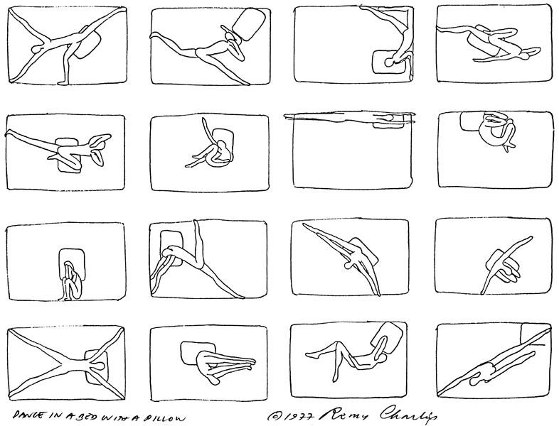 Remy Charlip, Air Mail Dances.