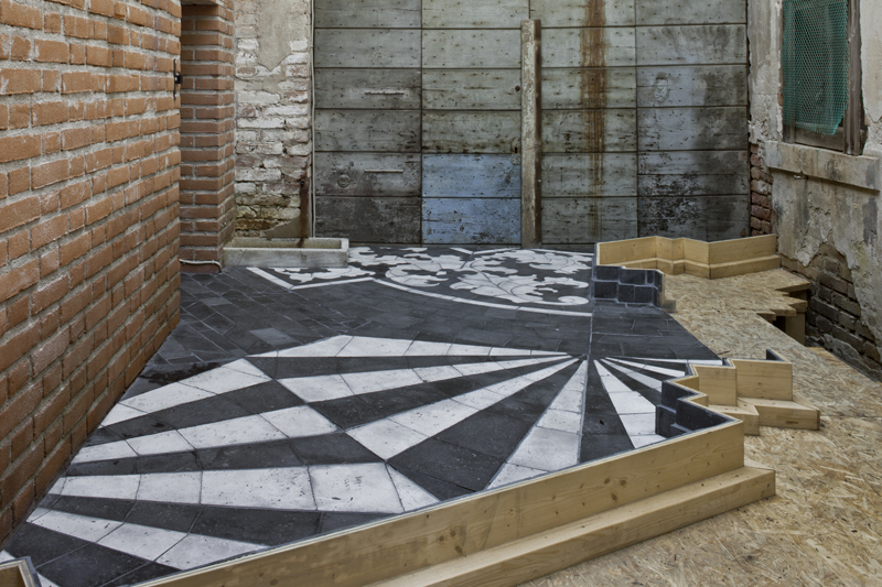 Katrín Sigurdardóttir, Foundation, 2013. Installation view: Lavanderia, Palazzo Zenobio, Venice. Courtesy of the artist and the Icelandic Art Center. Photo by Orsenigo Chemollo.
