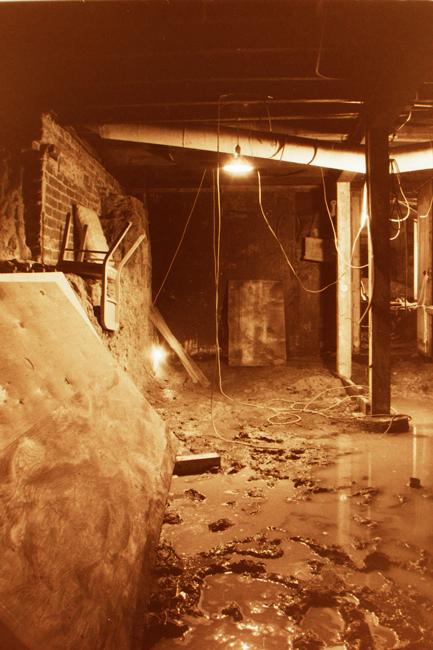 David Ireland's studio, San Francisco, 1988; photo: David Ireland; image courtesy of The 500 Capp Street Foundation.