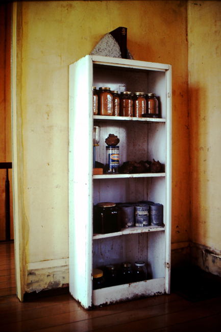 David Ireland, Collection of Relics with Mike Rody's Ink Cans, 1976-1978; image courtesy of The 500 Capp Street Foundation.