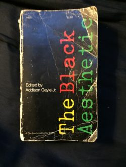 <i>The Black Aesthetic</i> (Anchor Books, 1972)