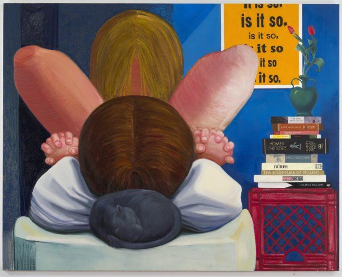 Nicole Eisenman, Is it so, 2014.
