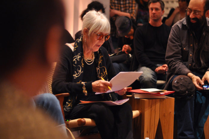 Living Room: Joanne Kyger