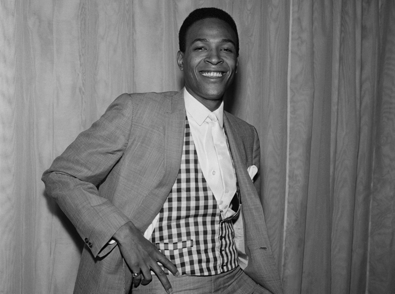 Marvin Gaye. Photographer unknown.