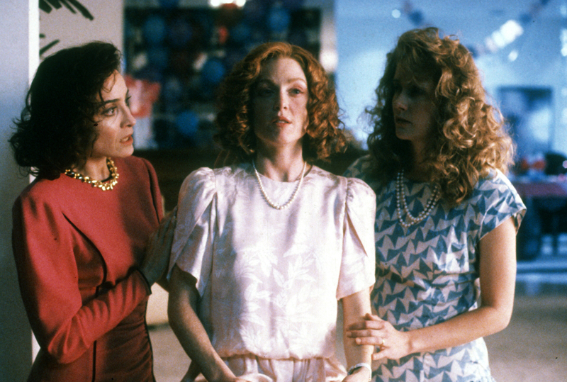 Todd Haynes, Safe, 1995. From left: Ronnie Farer, Julianne Moore, Susan Normal. Credit: Columbia TriStar / Photofest, ©Columbia TriStar.