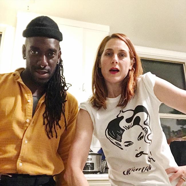 Selfie, 2017. Photo: Monique Jenkinson and Kelly Lovemonster.