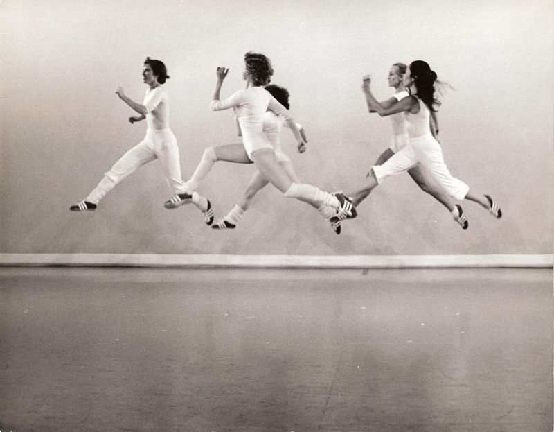 ODC performance of Red Shoes by the collective. Pictured: KT Nelson, Kimi Okada, Pam Quinn, Hannah Schwartzschild, Brenda Way. Photo: Doug Winter.