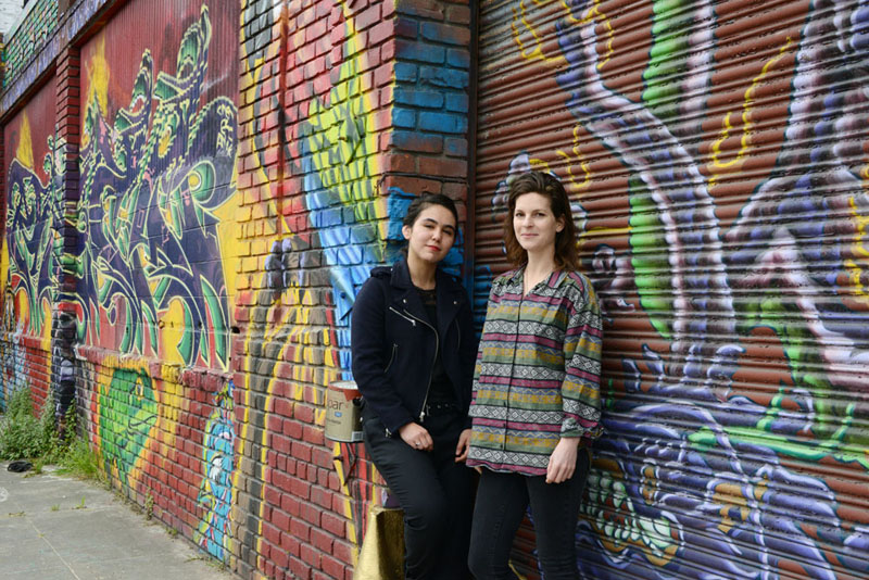 Misha Naiman and Tanya Rutherford of the 30th & West Live/Work Community Arts Center.