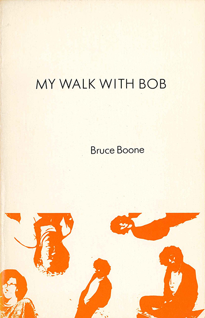 Cover of the first edition of My Walk with Bob; Black Star Series, 1979.