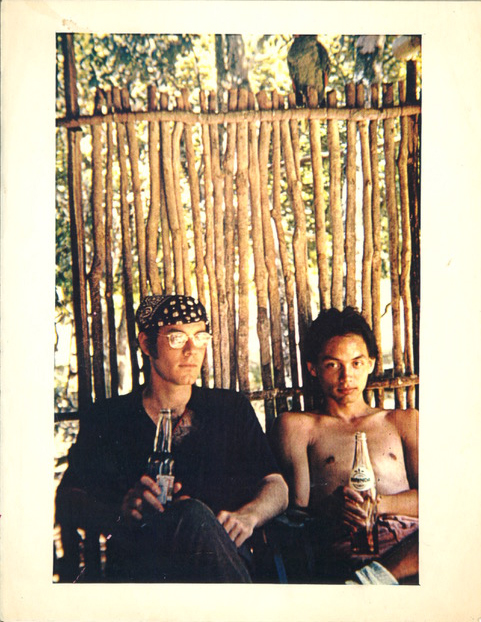 Robert Glück and Ed Aulerich Sugai, Guatemala, 1973. Photo courtesy Robert Glück.