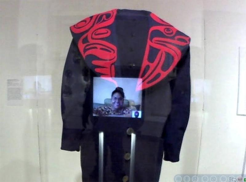 Kavita Krishnaswamy's selfie at the Seattle Art Museum. Courtesy Kavita Krishnaswamy.