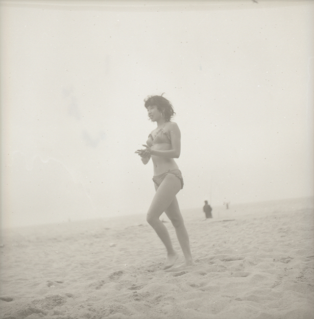 Unknown photographer, JoAnn B. Low at the beach, ca. 1950s. Courtesy of the DeFeo Foundation.