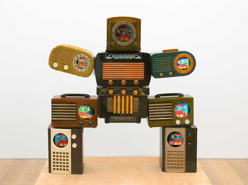 Nam June Paik, Untitled [Bakelite Robot], 2002