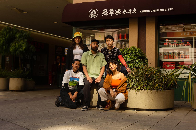 Drea, Lena, Richard, Rene, and Fiz; Chinatown, Oakland.