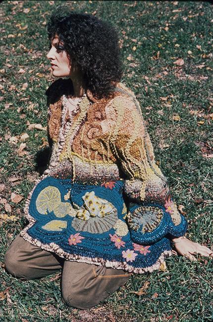 Dina Knapp, Frog Coat, 1974