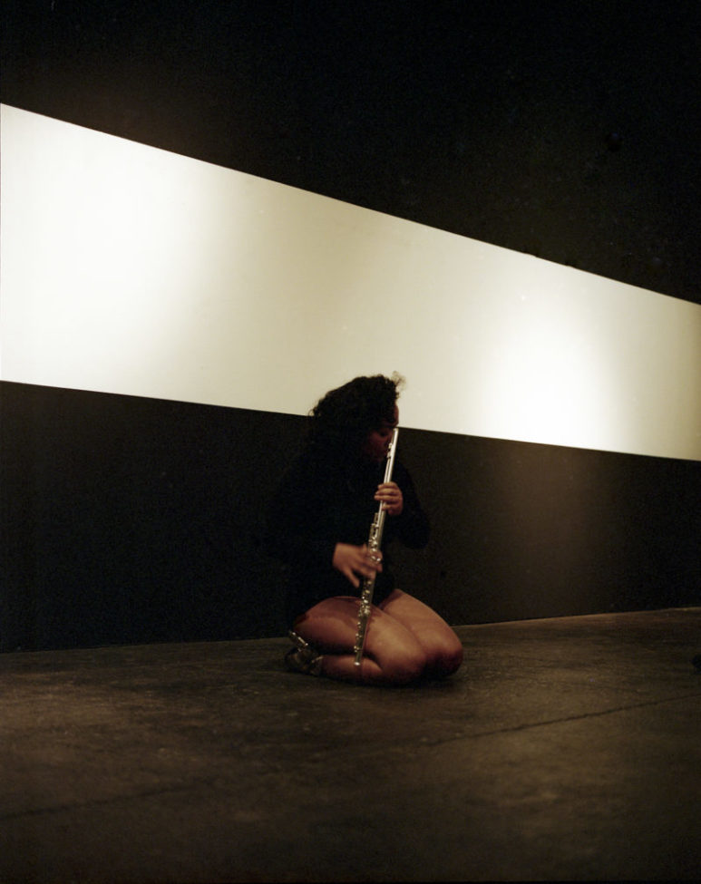 Sarah Cargill performing TITLE OF WORK.