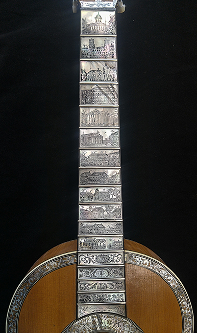A Mirecourt guitar. Click to enlarge.