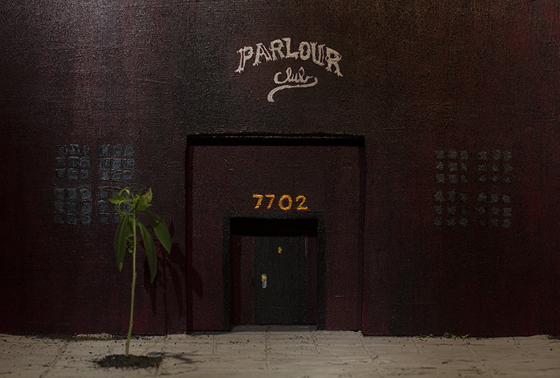 A maquette of the Parlour Club. Photos: Clement Goldberg