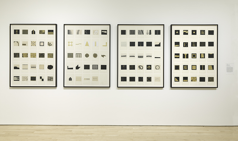 Zarina, The Ten Thousand Things II, 2011–14. Cut and pasted paper on paper Purchase, by exchange, through a gift of Peggy Guggenheim. © Zarina; Photographer: Katherine Du Tiel