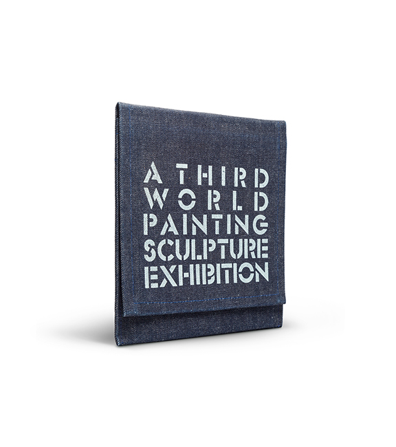 Cover of the A Third World Painting/Sculpture Exhibition catalogue.