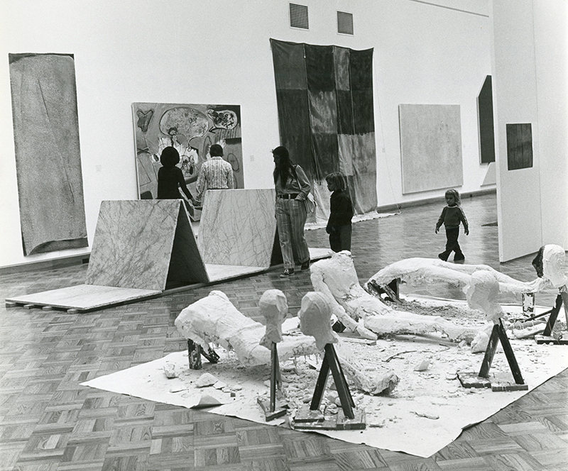 Gallery view of A Third World Painting/Sculpture Exhibition, 1974.