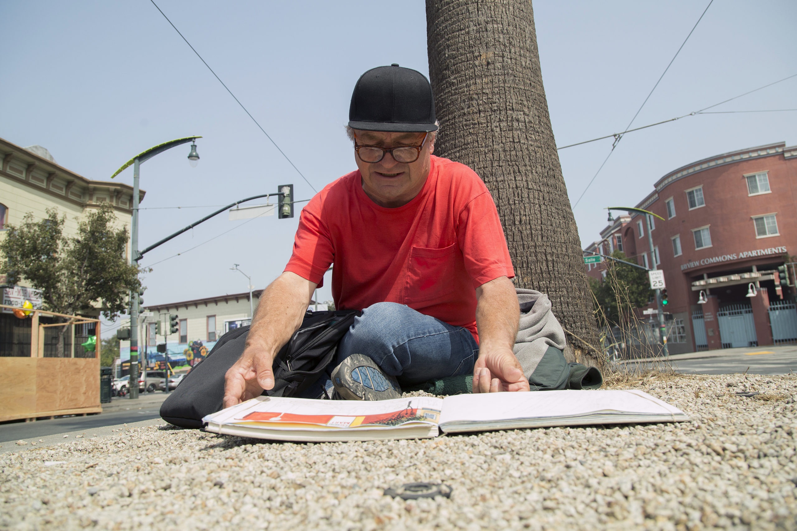 Rico Salinas looking for sketch